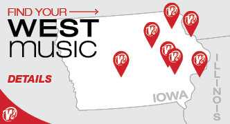 Find Your West Music Location