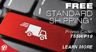 Free Standard Shipping with Promo Code 75SHIP18