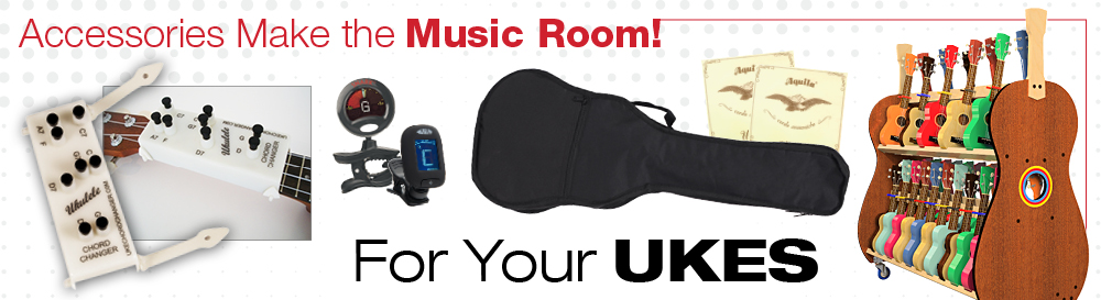 Ukulele classroom accessories