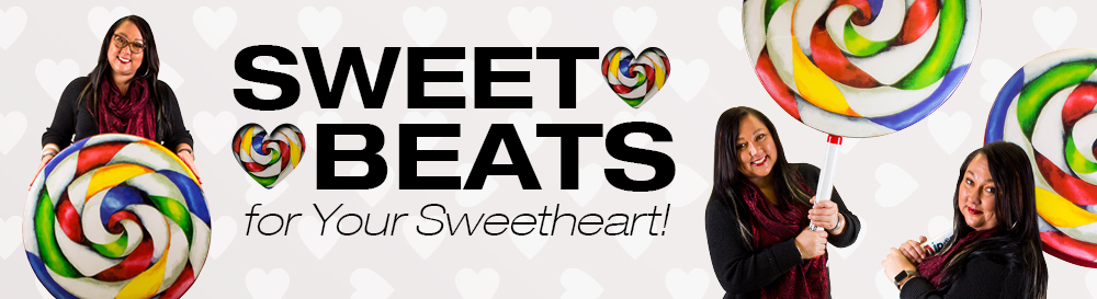 valentines day sweet beats