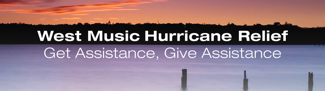 West Music Hurricane Maria and Harvey Relief