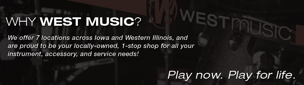 Why West Music?