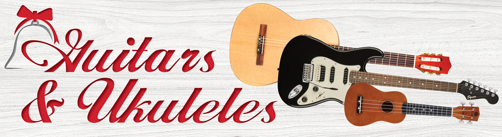 Holiday Gift Guide | Guitar and Ukuleles