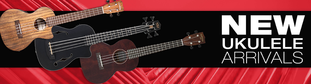 New Ukuleles at West Music