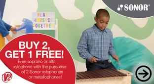 Sonor Back To School Buy 2, Get 1 Free!