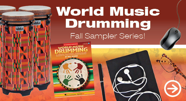 World Music Drumming Fall Sampler Series