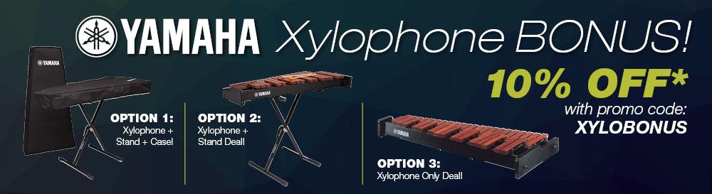Yamaha xylophone bonus