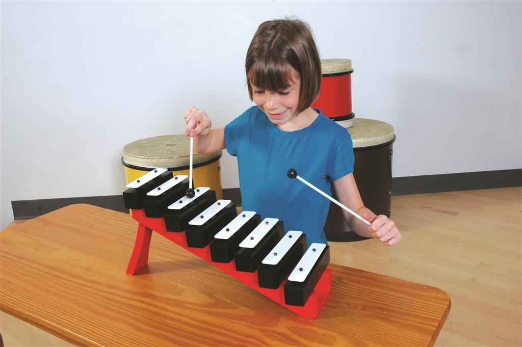 Basic Beat 8-Note Resonator Bells /& Step Ladder