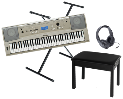 Yamaha Ypg 235 76 Key Keyboard Bundle West Music