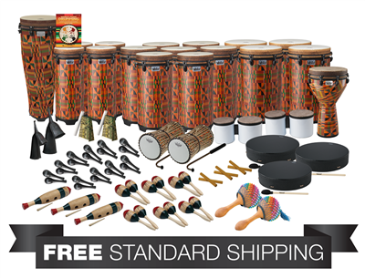 ccf7935d090d Remo World Music Drumming PP-WMDC-AA Package A