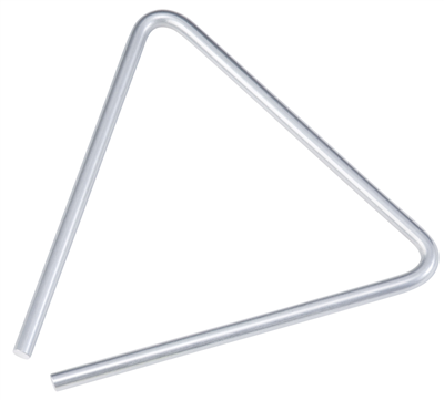 Westco Steel Triangle with Striker 6 inch