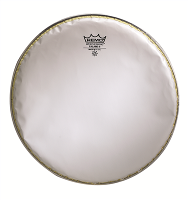 remo falams ii smooth white kl 0213 sa 13 marching snare side drum head west music. Black Bedroom Furniture Sets. Home Design Ideas