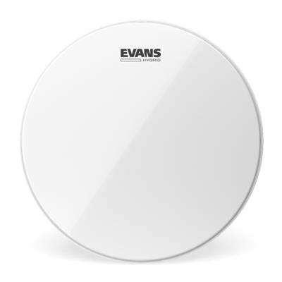 evans hybrid white sb13mhw 13 marching snare drum head west music. Black Bedroom Furniture Sets. Home Design Ideas