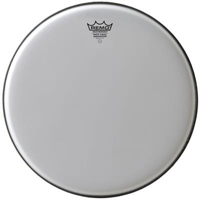 remo white suede emperor be 0816 ws 16 drum head west music. Black Bedroom Furniture Sets. Home Design Ideas