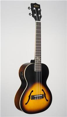kala ka jte 2ts archtop acoustic electric tenor ukulele sunburst. Black Bedroom Furniture Sets. Home Design Ideas