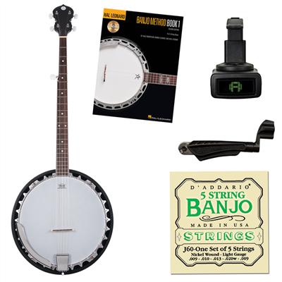Westwood 5-String Banjo Beginner Package
