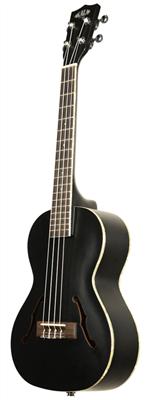 kala ka jte mtb archtop acoustic electric tenor ukulele metallic black. Black Bedroom Furniture Sets. Home Design Ideas