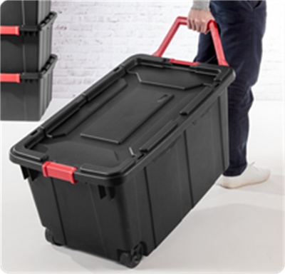 West Music Rolling Storage Tote