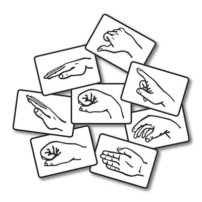 Magnetic Solfege Hand Signs