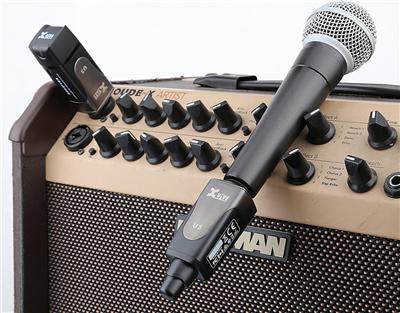 xvive audio u3 digital wireless microphone system black west music. Black Bedroom Furniture Sets. Home Design Ideas