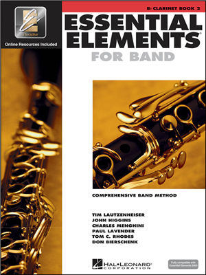 Essential Elements for Band Book 2 - Clarinet
