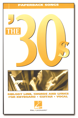 The '30s Paperback Songs