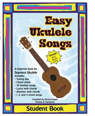 Easy Ukulele Songs Student Book | West Music